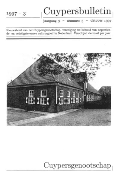 Cuypersbulletin 1997-3