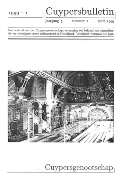 Cuypersbulletin 1999-1