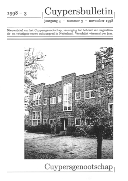 Cuypersbulletin 1998-3