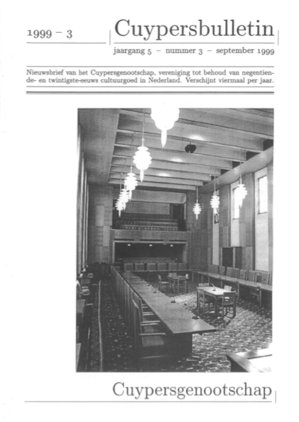 Cuypersbulletin 1999-3