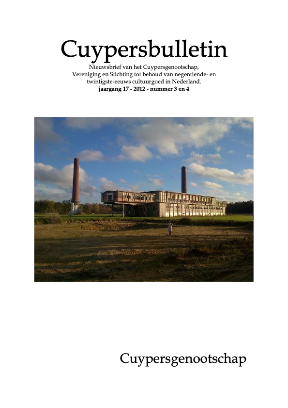 Cuypersbulletin 2012-3 & 4