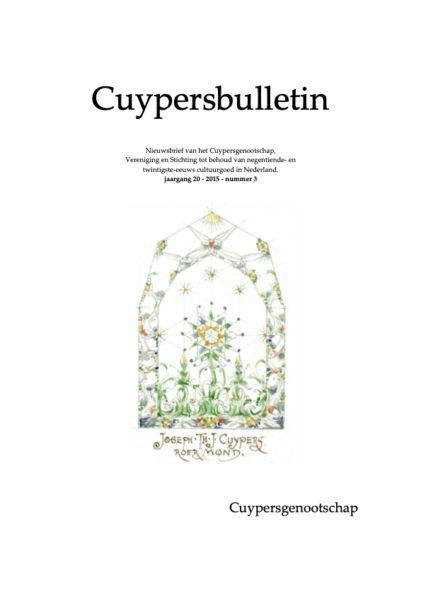 Cuypersbulletin 2015-3