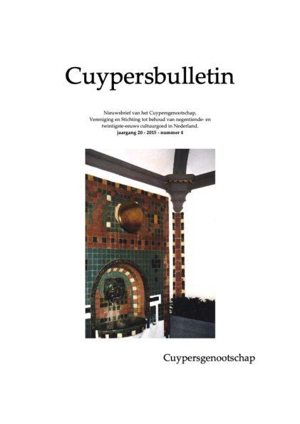Cuypersbulletin 2015-4