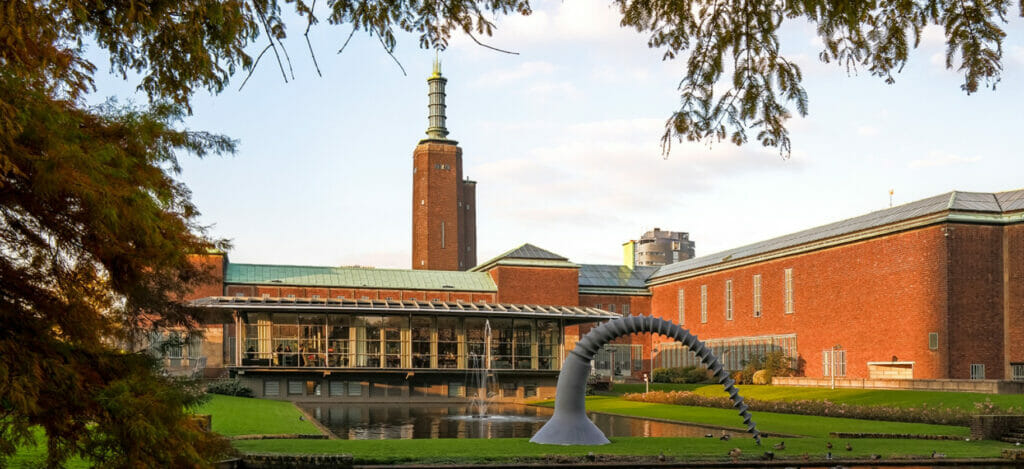 Hoofdgebouw museum Boijmans