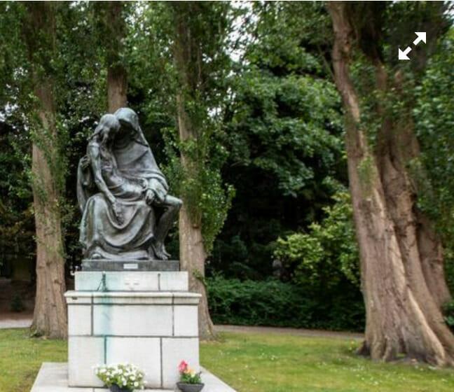 Pieta begraafplaats, Naaldwijk, foto Thierry Schut