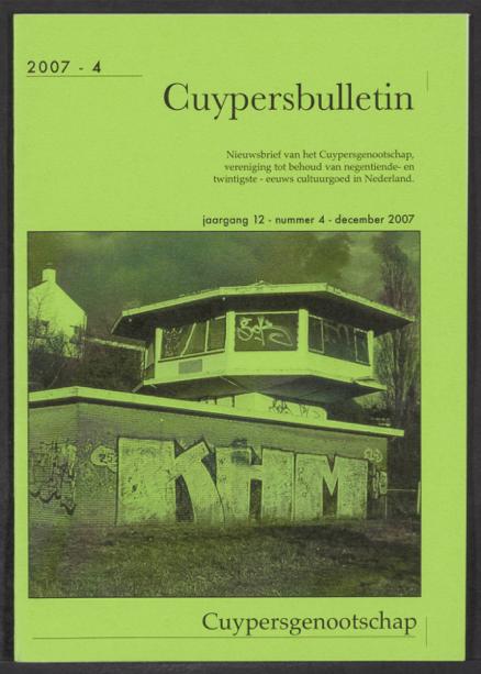 Cuypersbulletin 2007-4