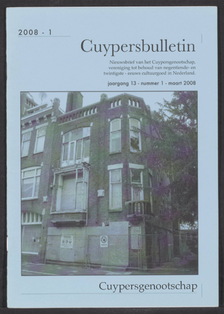 Cuypersbulletin 2008-1
