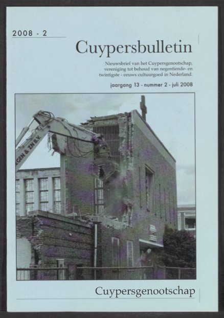 Cuypersbulletin 2008-2