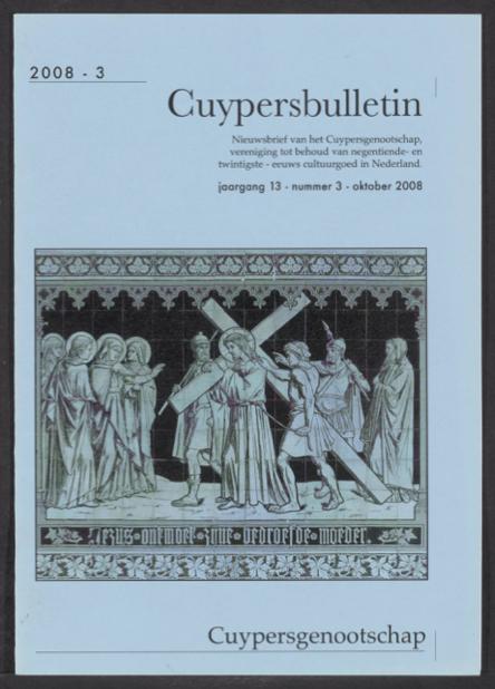 Cuypersbulletin 2008-3