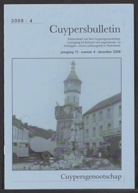 Cuypersbulletin 2008-4