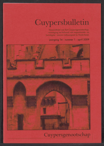 Cuypersbulletin 2009-1
