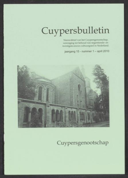 Cuypersbulletin 2010-1