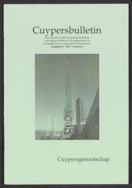 Cuypersbulletin 2011-1