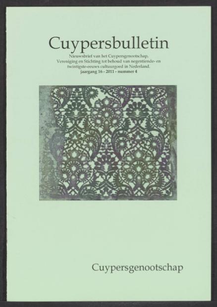 Cuypersbulletin 2011-4