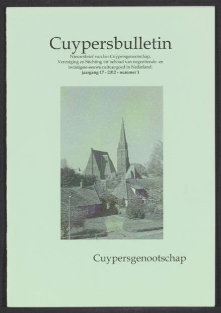 Cuypersbulletin 2012-1