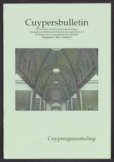 Cuypersbulletin 2013-1