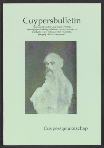 Cuypersbulletin 2013-2