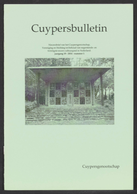 Cuypersbulletin 2014-1