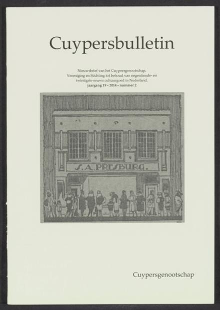 Cuypersbulletin 2014-2