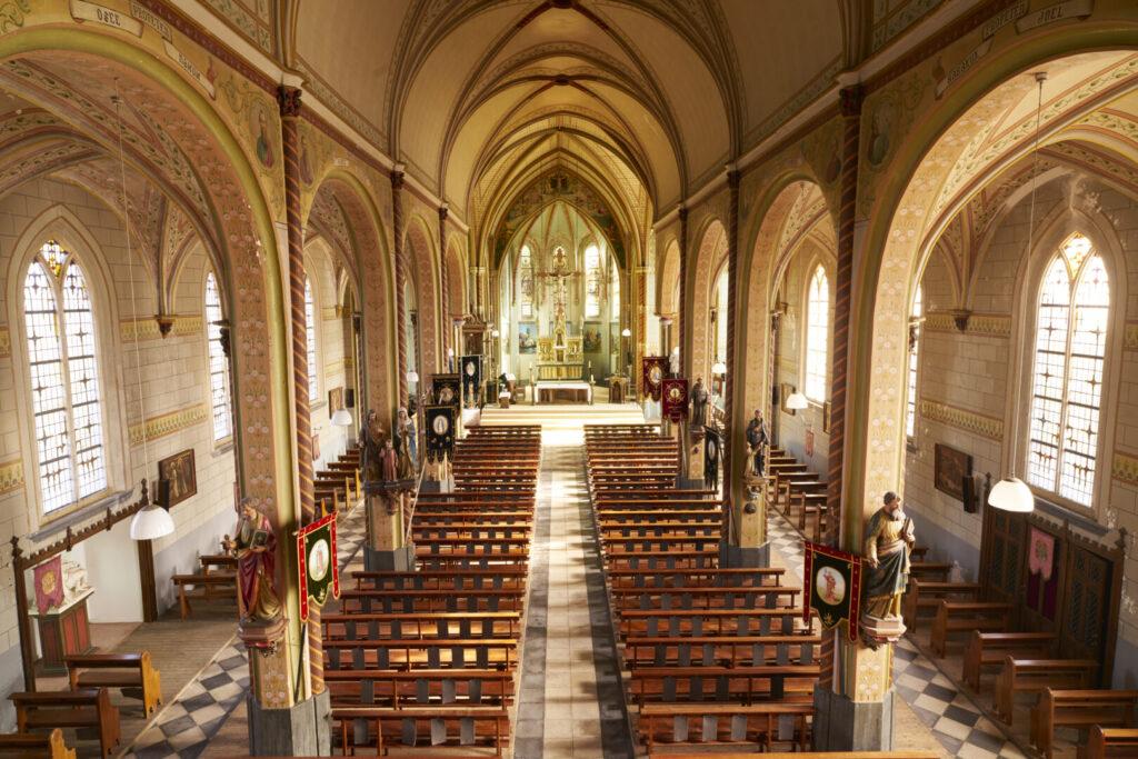 shots van Kerk in Graauw tbv Rijksdienst voor Cultureel Erfgoed