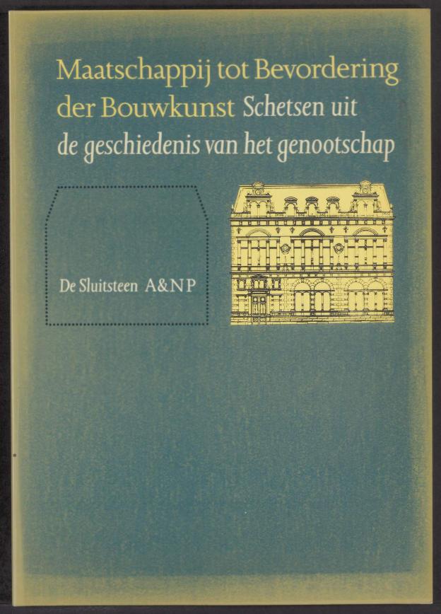 Jaarboek 1993 Maatschappij tot Bevordering der Bouwkunst