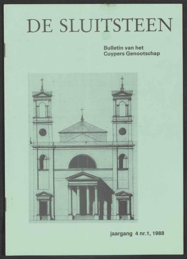 Sluitsteen 1988-1