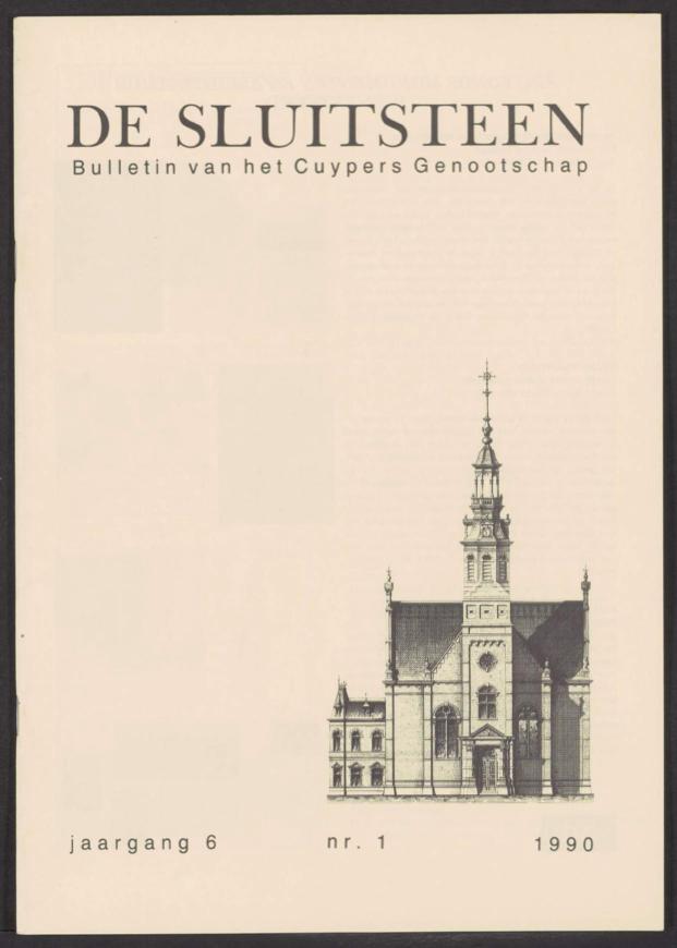 Sluitsteen 1990-1