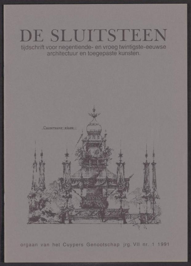 Sluitsteen 1991-1