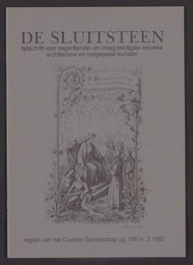 Sluitsteen 1992-3