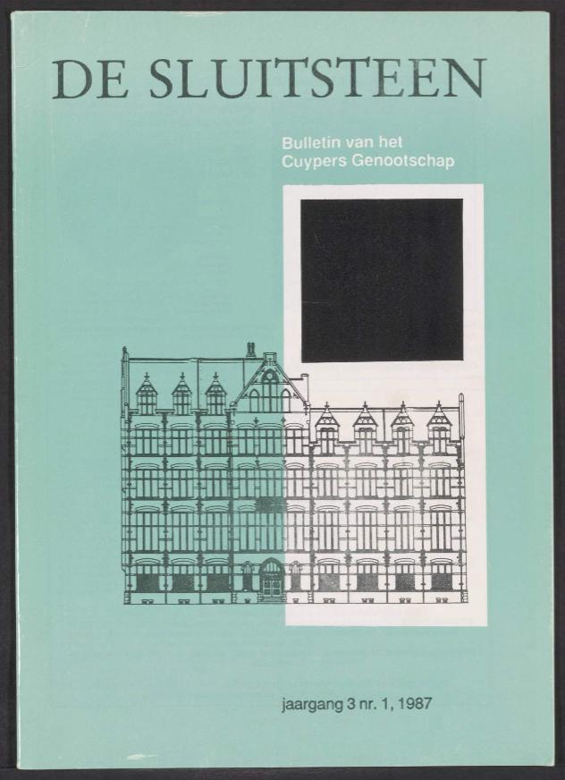 Sluitsteen 1987-1